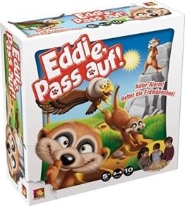 Asmodee 002503 - Eddie, pass auf, Geschicklichkeitsspiel -