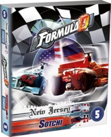 Asmodee 2193 - Formula D New Jersey Sotchi 5. Erweiterung, Brettspiel -