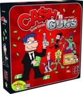 Asmodee  ASMCG-EN02 - Cash und Guns, Kartenspiel -