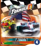 Asmodee ASMFDC4 - Formula D Circuits 4, Grand Prix of Baltimore and Buddh, Englisch, Brettspiel -