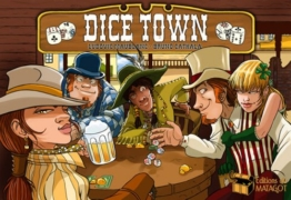 Asmodee Editions du Matagot 200666 - Dice Town -