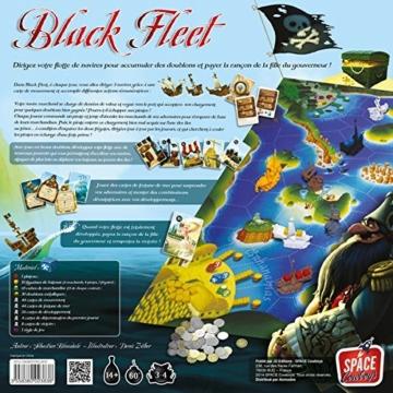 Asmodée scbf01fr-Gesellschaftsspiel-Black Fleet -