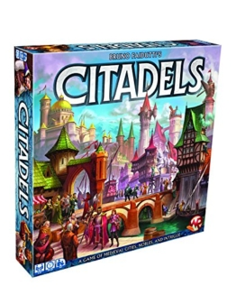Citadels A Game of Medieval Cities Nobles & Intrigue (2016 Edition) -