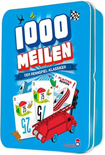 Dujardin 002789 - Kartenspiel - 1.000 Meilen -
