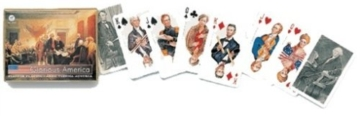 Glamorous America Patriotic Presidents Double Deck of Playing Cards by Piatnik by Piatnik -