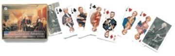 Glamorous America Patriotic Presidents Double Deck of Playing Cards by Piatnik by Piatnik -
