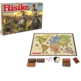 Hasbro Spiele B7404100 - Risiko - Edition 2016, Strategiespiel -