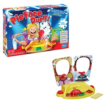 Hasbro Spiele C0193100 - Pie Face Duell Spiel, Partyspiel -