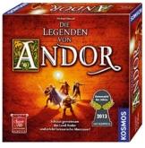 KOSMOS 691745 - Die Legenden von Andor, Kennerspiel des Jahres 2013 -