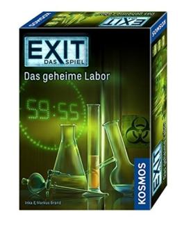 KOSMOS Spiele 692742 - Exit - Das Spiel, Das geheime Labor -