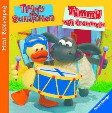 Mini-Bilderspaß Timmy will trommeln -