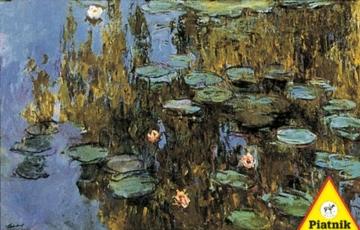 """Piatnik 1000 Piece Puzzle – """"Water Lilies"""" by Monet -"""