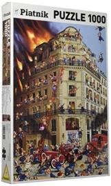 Piatnik 5354 - Ruyer - Feuerwehr, 1000 Teile Puzzle -