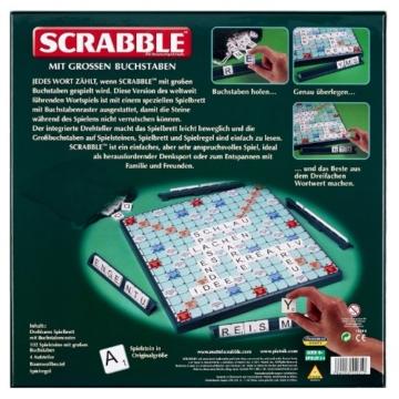 Piatnik 55031 - Scrabble mit großen Buchstaben -