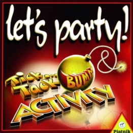 Piatnik 6382 - Activity Let's Party, Brettspiel -