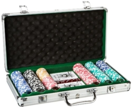Piatnik 7903 - Poker Set 300 High Gloss Chips -