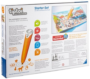 Ravensburger 00502 - tiptoi: Starter-Set mit Stift und Buch -