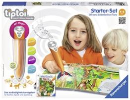 Ravensburger 00508 - tiptoi Starter-Set mit Stift und Buch Bilderlexikon Tiere -