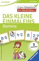 Ravensburger 41494 - Das kleine Einmaleins. Domino ab 7 Jahren, Lern und Experimentierspielzeug -