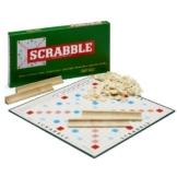 Scrabble Jubiläumsspiel mit Holzsteinen -