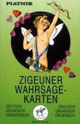 Zigeuner Wahrsagekarten, 36 Karten mit Anleitung -
