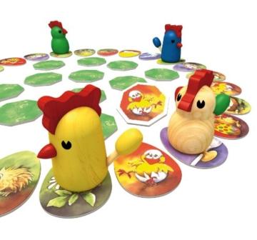 Zoch 601121800 - Zicke Zacke Hühnerkacke Kinderspiel -