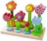 Haba 301551 Steckspiel Blumengarten -