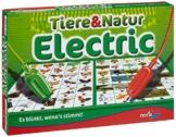 Noris 606013722 - Tiere und Natur Electric, Kinderspiel -