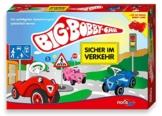 Noris Spiele 606010095 - BIG-BOBBY-CAR - Sicher im Verkehr, Kinderspiel -