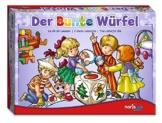 Noris Spiele 606011289 - Der Bunte Würfel, Kinderspiel -