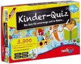 Noris Spiele 606013595 - Kinder Quiz 4+  , Kinderspiel -