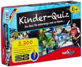 Noris Spiele 606013596 - Kinderquiz ab 6 Jahren Kinderspiel -