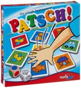 Noris Spiele 606013612 - Patsch Kinderspiel -