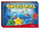 Noris Spiele 606049103 - Angelspiel mit 4 Angeln, Kinderspiel -