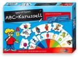 Noris Spiele 606076151 - ABC Karusell, Kinderspiel -