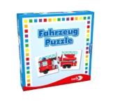 Noris Spiele 608985663 - Fahrzeuge Puzzle, Reise- und Mitbringspiel -