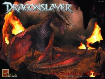 Pegasus Hobbies Dragonslayer: Vermithrax Dragon Model Kit -