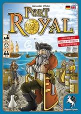 Pegasus Spiele 18114G - Port Royal - Händler der Karibik, Kartenspiel -