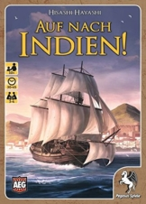 Pegasus Spiele 18310G - Kartenspiele, Auf nach Indien -