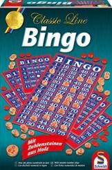 Schmidt Spiele 49089 - Classic Line: Bingo (Zahlensteine sind aus Holz) -