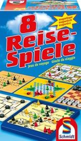 Schmidt Spiele 49102 8 Reise-Spiele, magnetisch -