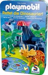 Schmidt Spiele 51229 - Playmobil, Rettet die Dinosaurier! -