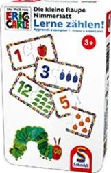 Schmidt Spiele 51238 - Die Kleine Raupe Nimmersatt, Lerne zählen -