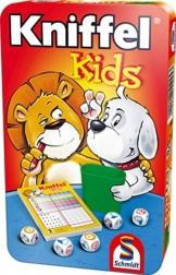 Schmidt Spiele 51245 Kniffel: Kniffel Kids in Metalldose -