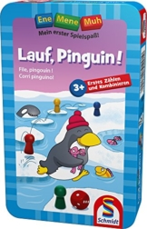 Schmidt Spiele 51291 - Ene Mene Muh, Lauf, Pinguin! -