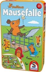 Schmidt Spiele 51405 Maus, Mausefalle in Metalldose, Reisespiel -