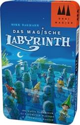 Schmidt Spiele Drei Magier Spiele 51401 Magische Labyrinth in Metalldose, Spiel -