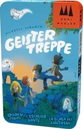 Schmidt Spiele Drei Magier Spiele 51402 Geistertreppe in Metalldose, Spiel -
