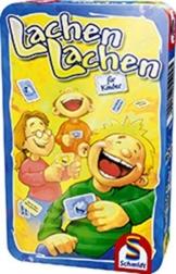 Schmidt Spiele - Lachen lachen, für Kinder, Metalldose -