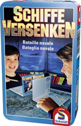 Schmidt Spiele - Schiffe versenken, Metalldose -